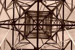 Wysoka woltaż geometria Zdjęcie Stock