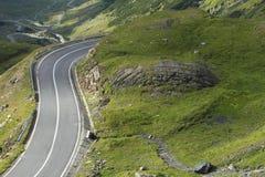 wysoka wysokości droga Zdjęcia Royalty Free