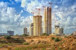 Wysoka wzrostów budynków budowa Obraz Royalty Free