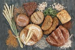 Wysoki Żywienioniowy włókna jedzenie fotografia stock