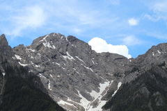 Wysoki Alpejski Vista Obrazy Stock
