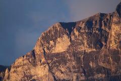 Wysoki Alpejski Vista fotografia stock