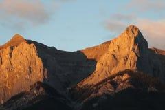 Wysoki Alpejski Vista Fotografia Royalty Free