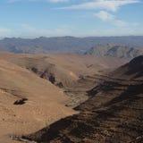 Wysoki atlant Maroko Zdjęcia Royalty Free