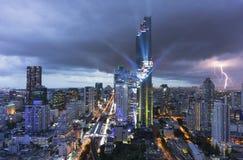Wysoki budynek w Bangkok, Tajlandia Obrazy Stock