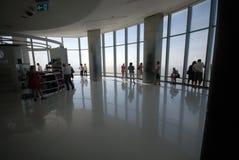 Wysoki budynek w świacie Zdjęcia Royalty Free
