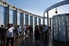 Wysoki budynek w świacie Zdjęcie Stock