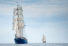 wysoki concordia statek Obraz Royalty Free