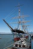 wysoki doku statek obraz royalty free