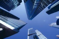wysoki drapacz chmur, centrum biznesu w mieście Zdjęcie Stock