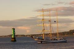 Wysoki Dublin Statek ściga się 2012 Zdjęcia Stock