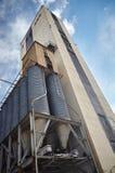 Wysoki fabryczny budynek Obrazy Stock