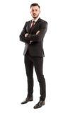 Wysoki i pomyślny biznesowy mężczyzna Fotografia Royalty Free