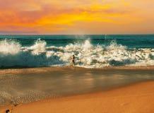 wysoki jpg rezolucji morza słońca Obraz Royalty Free
