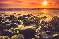 wysoki jpg rezolucji morza słońca Zdjęcie Stock