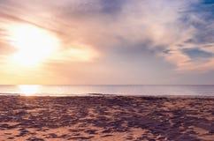 wysoki jpg rezolucji morza słońca Fotografia Royalty Free
