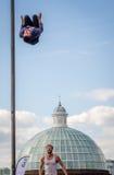 wysoki jumping Zdjęcie Stock