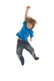 wysoki jumping Obraz Royalty Free