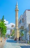 Wysoki kamienny minaret Zdjęcia Royalty Free