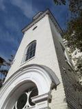 Wysoki kaplicy Steeple w Georgetown zdjęcie stock