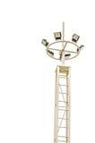 Wysoki lamppost Fotografia Stock