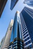 Wysoki luksusowy budynku drapacz chmur Fotografia Royalty Free