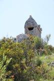 wysoki lycian grobowiec Fotografia Royalty Free
