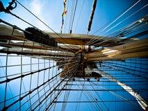 wysoki masztowy statek Obraz Stock