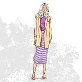 Wysoki modny koloru spojrzenie Zdjęcie Stock