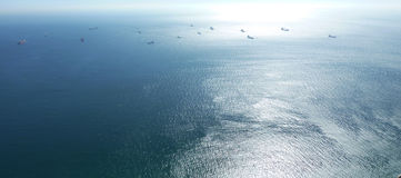 Wysoki morze Fotografia Royalty Free