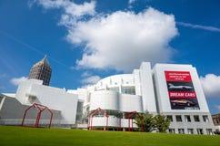 Wysoki muzeum w środku miasta Atlanta Fotografia Royalty Free