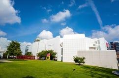 Wysoki muzeum w środku miasta Atlanta Zdjęcia Stock