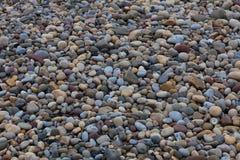 wysoki na plaży jpg otoczaków rezolucji Fotografia Royalty Free