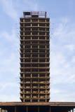 Wysoki niedokończony budynek Zdjęcie Royalty Free
