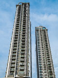 Wysoki Nowożytny budynek, Condomimium dla pobytu (mieszkanie) zdjęcie stock