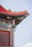Wysoki piękny tradycyjni chińskie pawilon Fotografia Stock