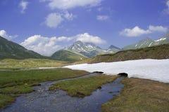 Wysoki plateau w Alps obrazy royalty free