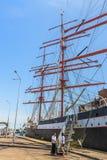wysoki portowy statek Obrazy Stock