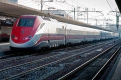 Wysoki prędkość pociąg Fotografia Stock