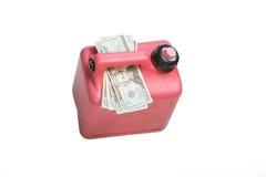 wysoki prices2 gazu Zdjęcia Stock