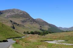 Wysoki przełaz Beck Cumbria i Gatesgarthdale england zdjęcia stock