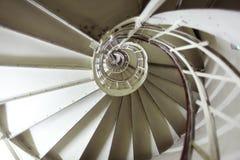Wysoki schody w wierza Obraz Royalty Free