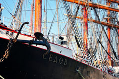 wysoki sedov statek Obrazy Stock