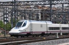 wysoki spanish prędkości pociąg Obrazy Royalty Free