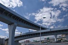 Wysoki sposobu most zdjęcie stock