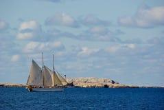 Wysoki statek Obraz Royalty Free