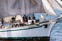 Wysoki statek Gazela z Filadelfia, PA Zdjęcia Stock