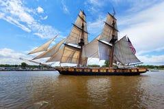 Wysoki statek Niagara Obrazy Royalty Free