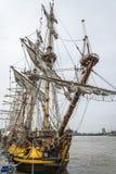 Wysoki statek Shtandart Zdjęcie Royalty Free