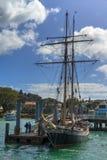 Wysoki statek w Russell, Nowa Zelandia ` R Tucker Thompson ` Obrazy Stock